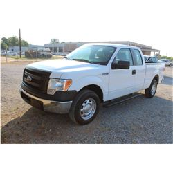 2014 FORD F150 Pickup Truck, VIN/SN:1FTEX1CM3EFC09615 - ext. cab, V6 gas, A/T, AC, 52,568 odometer r