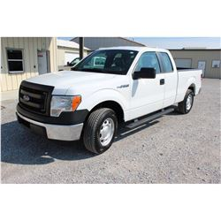 2014 FORD F150 Pickup Truck, VIN/SN:1FTEX1CM9EFC09635 - ext. cab, V6 gas, A/T, AC, 55,719 odometer r