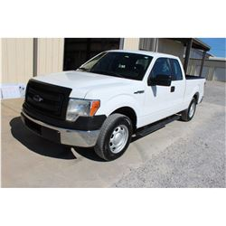 2014 FORD F150 Pickup Truck, VIN/SN:1FTEX1CM2EFB18285 - ext. cab, V6 gas, A/T, AC, 59,040 odometer r