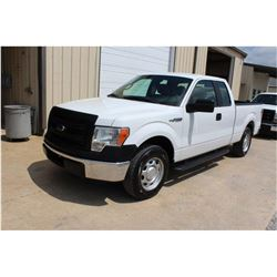 2014 FORD F150 Pickup Truck, VIN/SN:1FTEX1CM9EFB18266 - ext. cab, V6 gas, A/T, AC, 63,643 odometer r