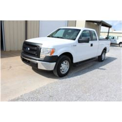 2014 FORD F150 Pickup Truck, VIN/SN:1FTEX1CM9EFC09604 - ext. cab, V6 gas, A/T, AC, 64,658 odometer r