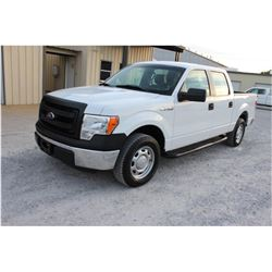 2013 FORD F150 Pickup Truck, VIN/SN:1FTEW1CM3DFB46422 - crew cab, V6 gas, A/T, AC, 61,263 odometer r