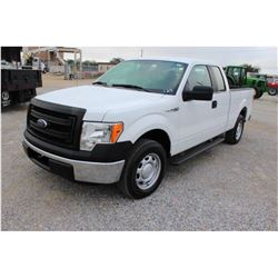 2013 FORD F150 Pickup Truck, VIN/SN:1FTEX1CMXDFC14115 - ext. cab, V6 gas, A/T, AC, 51,113 odometer r