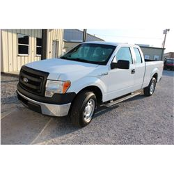 2013 FORD F150 Pickup Truck, VIN/SN:1FTEX1CM6DFC14113 - ext. cab, V6 gas, A/T, AC, 61,427 odometer r
