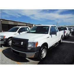 2013 FORD F150 Pickup Truck, VIN/SN:1FTEX1CM5DFC14104 - ext. cab, V6 gas, A/T, AC, 62,164 odometer r