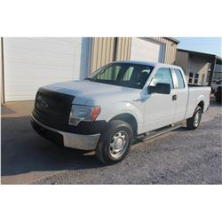 2013 FORD F150 Pickup Truck, VIN/SN:1FTEX1CM3DFC14103 - ext. cab, V6 gas, A/T, AC, 67,050 odometer r