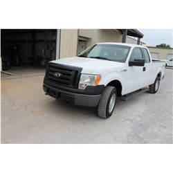 2012 FORD F150 Pickup Truck, VIN/SN:1FTEX1EM6CFC22594 - 4x4, ext. cab, V6 gas, A/T, AC, 44,421 odome