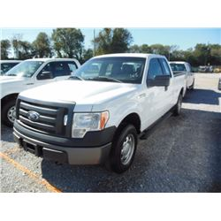 2012 FORD F150 Pickup Truck, VIN/SN:1FTEX1EMXCFB03656 - 4x4, ext. cab, V6 gas, A/T, AC, 64,993 odome