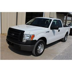 2012 FORD F150 Pickup Truck, VIN/SN:1FTEX1CM7CFB36763 - ext. cab, V6 gas, A/T, AC, 40,654 odometer r