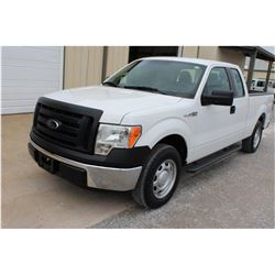 2012 FORD F150 Pickup Truck, VIN/SN:1FTEX1CMXCFC04019 - ext. cab, V6 gas, A/T, AC, 43,636 odometer r
