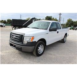 2012 FORD F150 Pickup Truck, VIN/SN:1FTEX1CM6CFB36754 - ext. cab, V6 gas, A/T, AC, 44,818 odometer r
