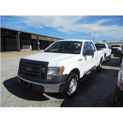 2012 FORD F150 Pickup Truck, VIN/SN:1FTEX1CM1CFB96487 - ext. cab, V6 gas, A/T, AC, 45,077 odometer r