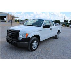 2012 FORD F150 Pickup Truck, VIN/SN:1FTEX1CM5CFB27074 - ext. cab, V6 gas, A/T, AC, 45,107 odometer r