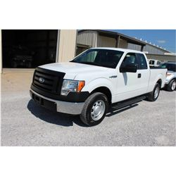 2012 FORD F150 Pickup Truck, VIN/SN:1FTEX1CM3CFB96491 - ext. cab, V6 gas, A/T, AC, 49,657 odometer r