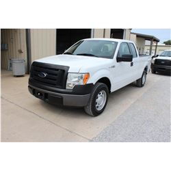 2012 FORD F150 Pickup Truck, VIN/SN:1FTEX1CM9CFB27126 - ext. cab, V6 gas, A/T, AC, 53,625 odometer r