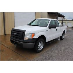 2012 FORD F150 Pickup Truck, VIN/SN:1FTEX1CM4CFB27079 - ext. cab, V6 gas, A/T, AC, 54,368 odometer r