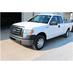 2012 FORD F150 Pickup Truck, VIN/SN:1FTEX1CM8CFB36772 - ext. cab, V6 gas, A/T, AC, 83,918 odometer r