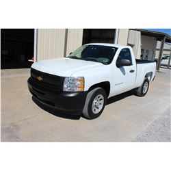 2012 CHEVROLET 1500 Pickup Truck, VIN/SN:1GCNCPEA5CZ318204 - V8 gas, A/T, AC, 25,078 odometer readin