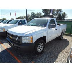 2012 CHEVROLET 1500 Pickup Truck, VIN/SN:1GCNCPEA5CZ324410 - V8 gas, A/T, AC, 31,801 odometer readin