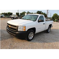 2012 CHEVROLET 1500 Pickup Truck, VIN/SN:1GCNCPEA3CZ318797 - V8 gas, A/T, AC, 31,881 odometer readin