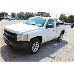 2012 CHEVROLET 1500 Pickup Truck, VIN/SN:1GCNCPEA9CZ324636 - V8 gas, A/T, AC, 32,069 odometer readin