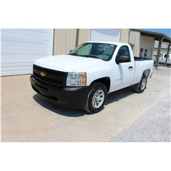 2012 CHEVROLET 1500 Pickup Truck, VIN/SN:1GCNCPEA7CZ220002 - V8 gas, A/T, AC, 33,843 odometer readin