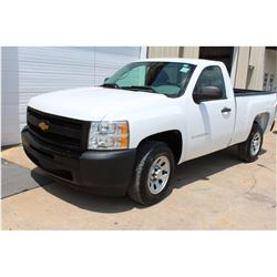 2012 CHEVROLET 1500 Pickup Truck, VIN/SN:1GCNCPEA1CZ220061 - V8 gas, A/T, AC, 34,207 odometer readin