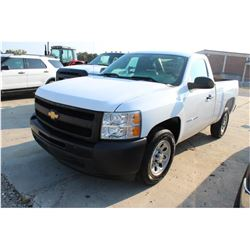 2012 CHEVROLET 1500 Pickup Truck, VIN/SN:1GCNCPEA7CZ289756 - V8 gas, A/T, AC, 37,250 odometer readin
