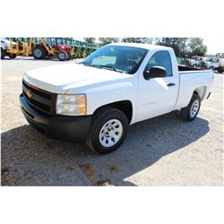 2012 CHEVROLET 1500 Pickup Truck, VIN/SN:1GCNCPEA6CZ324660 - V8 gas, A/T, AC, 40,949 odometer readin