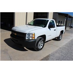2012 CHEVROLET 1500 Pickup Truck, VIN/SN:1GCNCPEA7CZ320889 - V8 gas, A/T, AC, 42,901 odometer readin