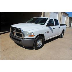 2011 DODGE 2500 Pickup Truck, VIN/SN:3D7TP2CT8BG628385 - crew cab, V8 gas, A/T, AC, Tommy Gate lift