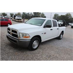 2011 DODGE 2500 Pickup Truck, VIN/SN:3D7TP2CT6BG628384 - crew cab, V8 gas, A/T, AC, Tommy Gate lift
