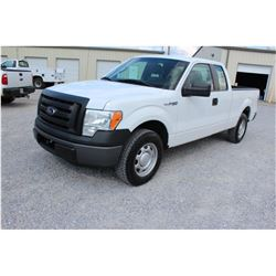 2011 FORD F150 Pickup Truck, VIN/SN:1FTEX1CM9BFB17842 - ext. cab, V6 gas, A/T, AC, 50,296 odometer r