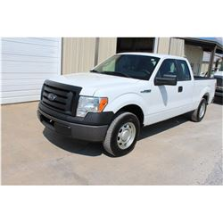 2011 FORD F150 Pickup Truck, VIN/SN:1FTEX1CM1BFB46896 - ext. cab, V6 gas, A/T, AC, 54,409 odometer r