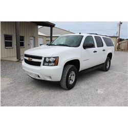 2012 CHEVROLET SUBURBAN SUV, VIN/SN:1GNWK5EG8CR312520 - 4x4, V8 gas, A/T, AC, 3rd row seating, 109,9