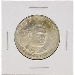 1949 Booker T Washington Centennial Commemorative Half Dollar Coin