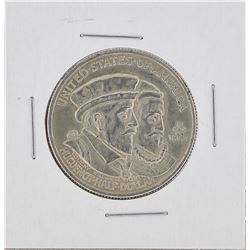 1924 Huguenot-Walloon Tercentary Commemorative Half Dollar Coin