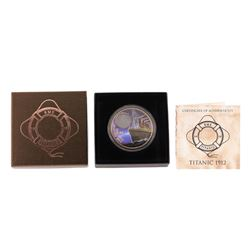 2012 $2 Titanic Night British Virgin Islands Bronze Coin with COA