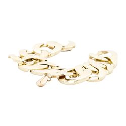 14KT Yellow Gold Link Bracelet