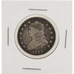 1825/3 Capped Bust Quarter Silver Coin