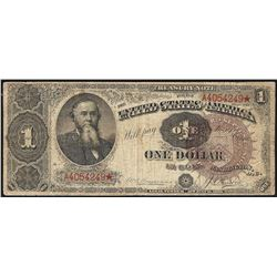 1890 $1 Treasury Note