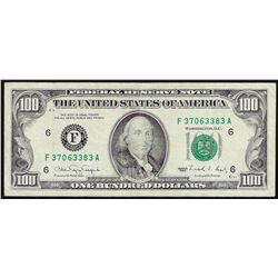 1990 $100 Federal Reserve Note