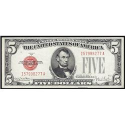 1928F $5 Legal Tender Note