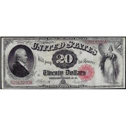 1880 $20 Legal Tender Note
