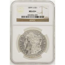 1899-S $1 Morgan Silver Dollar Coin NGC MS65+