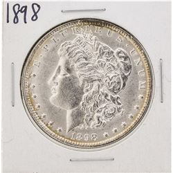 1898 $1 Morgan Silver Dollar Coin