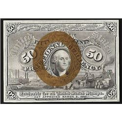 March 3, 1863 Ten Cents Second Issue Fractional Currency Note