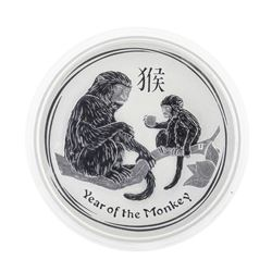 2016 Australia $2 Year of the Monkey Silver Coin
