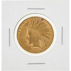 1910-D $10 Indian Head Gold Eagle Gold Coin