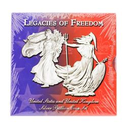 Legacies of Freedom Silver 2 Coin Set